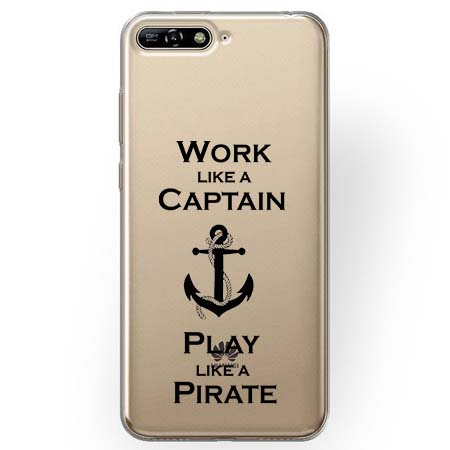 Etui na Huawei Y6 2018 - Work like a Captain…