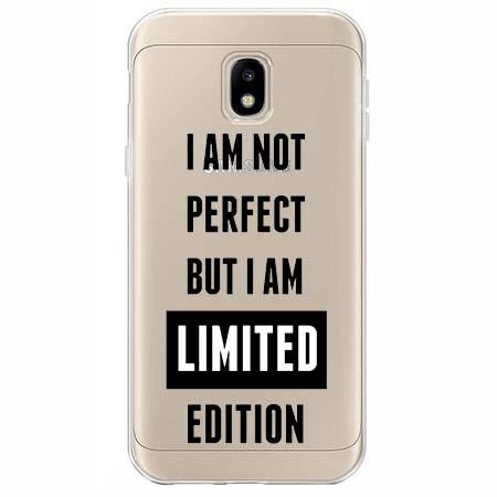 Etui na Samsung Galaxy J3 2017 - I Am not perfect…