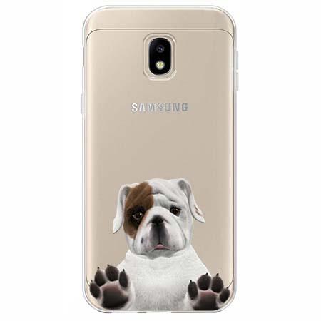 Etui na Samsung Galaxy J3 2017 - Słodki szczeniaczek