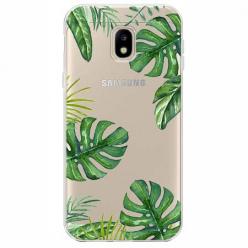 Etui na Samsung Galaxy J3 2017 - Egzotyczne roślina monstera.