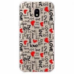 Etui na Samsung Galaxy J3 2017 - Love, love, love…