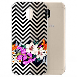Etui na Samsung Galaxy J3 2017 - Kwiatowy bukiet dla Ciebie.