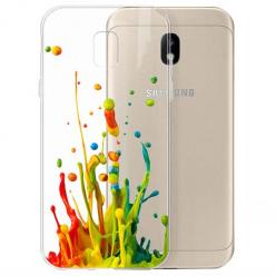 Etui na Samsung Galaxy J3 2017 - Kolorowy splash.
