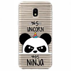 Etui na Samsung Galaxy J3 2017 - Ninja Unicorn - Jednorożec.