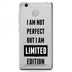 Etui na Xiaomi Redmi 3S - I Am not perfect…