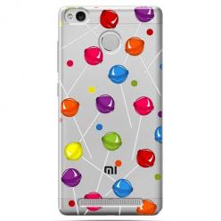 Etui na Xiaomi Redmi 3S - Kolorowe lizaki.