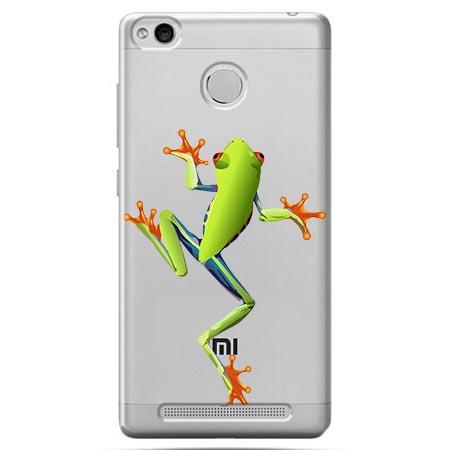 Etui na Xiaomi Redmi 3S - Zielona żabka.