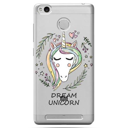 Etui na Xiaomi Redmi 3 Pro - Dream unicorn - Jednorożec.