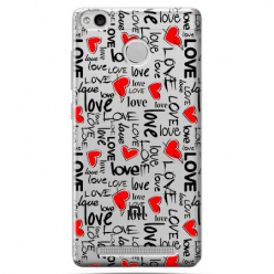 Etui na Xiaomi Redmi 3 Pro - Love, love, love…