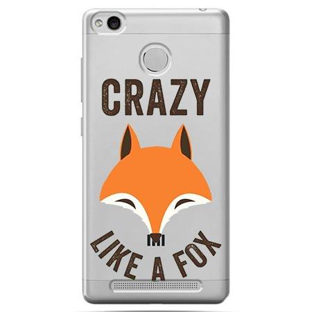 Etui na Xiaomi Redmi 3 Pro - Crazy like a fox.