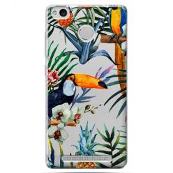 Etui na Xiaomi Redmi 3 Pro - Kolorowe tukany.