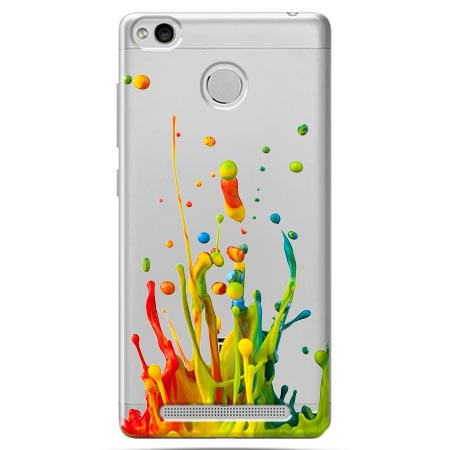Etui na Xiaomi Redmi 3 Pro - Kolorowy splash.