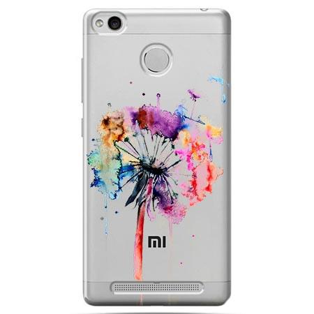 Etui na Xiaomi Redmi 3 Pro - Watercolor dmuchawiec.