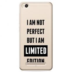 Etui na Xiaomi Redmi 4A - I Am not perfect…