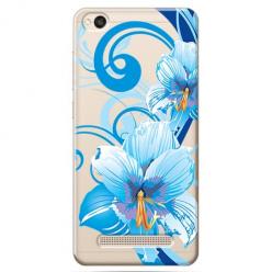 Etui na Xiaomi Redmi 4A - Niebieski kwiat północy.