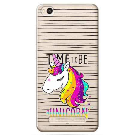Etui na Xiaomi Redmi 4A - Time to be unicorn - Jednorożec.