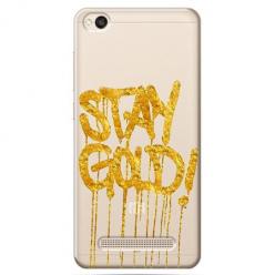 Etui na Xiaomi Redmi 4A - Stay Gold.
