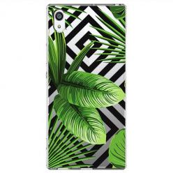 Etui na Sony Xperia XA1 - Egzotyczne liście bananowca.