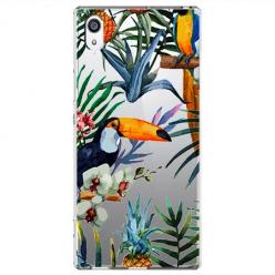 Etui na Sony Xperia XA1 - Kolorowe tukany
