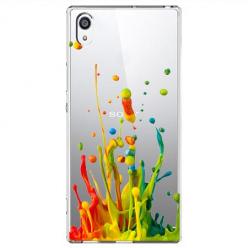 Etui na Sony Xperia XA1 - Kolorowy splash.