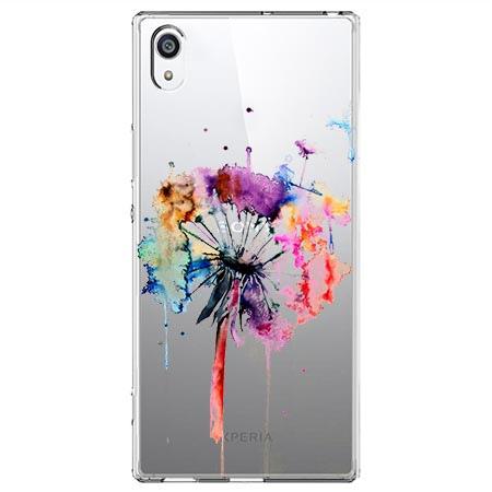 Etui na Sony Xperia XA1 - Watercolor dmuchawiec.