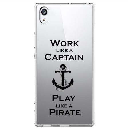 Etui na Sony Xperia XA1 - Work like a Captain…