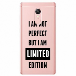 Etui na telefon Xiaomi Note 4X - I Am not perfect…