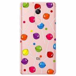 Etui na telefon Xiaomi Note 4X - Kolorowe lizaki.