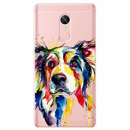 Etui na telefon Xiaomi Note 4X - Watercolor pies.