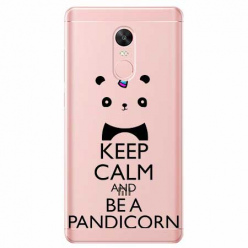 Etui na telefon Xiaomi Note 4X - Keep Calm… Pandicorn.