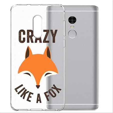 Etui na telefon Xiaomi Note 4X - Crazy like a fox.