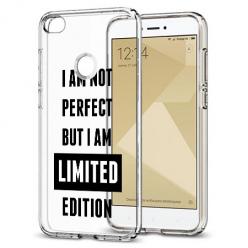Etui na telefon Xiaomi Note 5A - I Am not perfect…