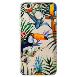 Etui na telefon Xiaomi Note 5A - Egzotyczne tukany.