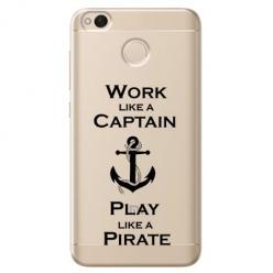 Etui na telefon Xiaomi Note 5A - Work like a Captain…