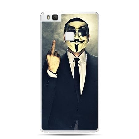 Etui na Huawei P9 Lite Fuck You, anonimus - Promocja !!!