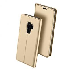 Etui na Samsung Galaxy S9 Plus - magnet pro skin  - Złoty.
