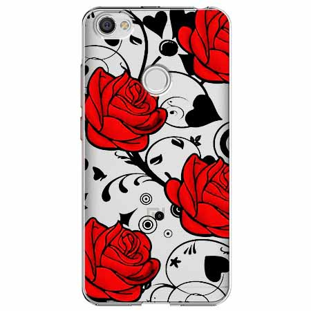 Etui na Xiaomi Note 5A Prime - Czerwone róże.