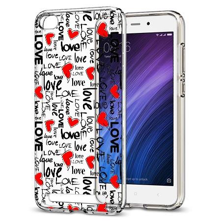 Etui na Xiaomi Redmi 5A - Love, love, love…
