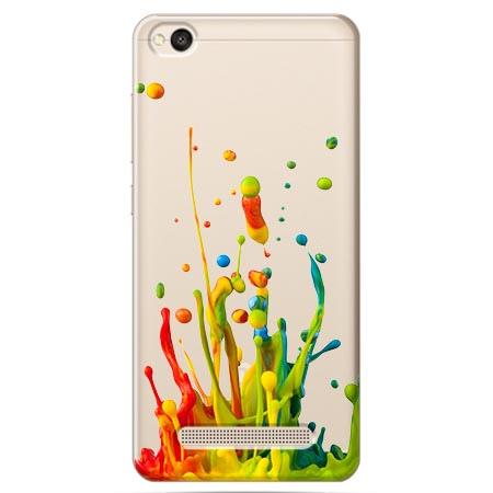 Etui na Xiaomi Redmi 5A - Kolorowy splash.