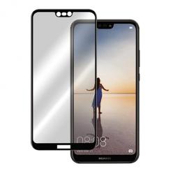 Huawei P20 Lite hartowane szkło 5D Full Glue - Czarny.
