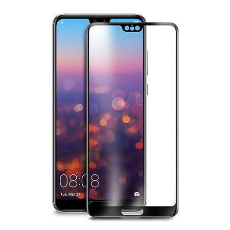 Huawei P20 Pro - hartowane szkło 5D na cały ekran - Czarny.