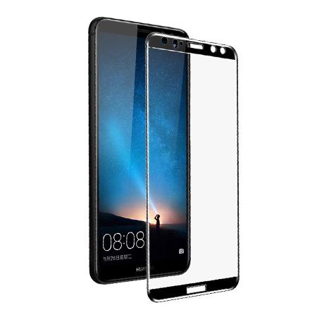 Huawei Mate 10 Lite - hartowane szkło 5D na cały ekran - Czarny.