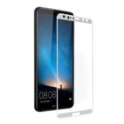 Huawei Mate 10 Lite hartowane szkło 5D Full Glue - Biały
