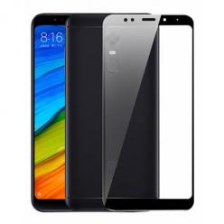 Xiaomi Redmi 5 Plus hartowane szkło 5D Full Glue - Czarny.
