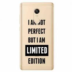 Etui na Xiaomi Redmi 5 Plus - I Am not perfect…