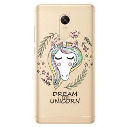 Etui na Xiaomi Redmi 5 Plus - Dream unicorn - Jednorożec.