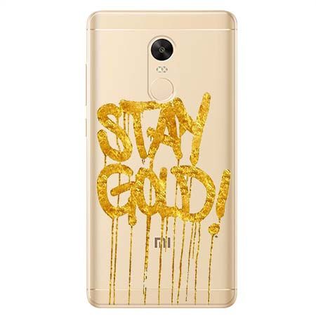 Etui na Xiaomi Redmi 5 Plus - Stay Gold.