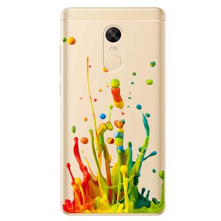 Etui na Xiaomi Redmi 5 Plus - Kolorowy splash.