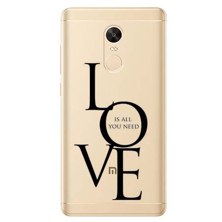 Etui na Xiaomi Redmi 5 Plus - All you need is LOVE.