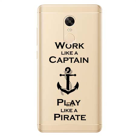 Etui na Xiaomi Redmi 5 Plus - Work like a Captain…
